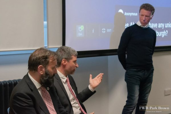 Tomas Carruthers, Dr Marc Gronwald and Stephen Ingledew